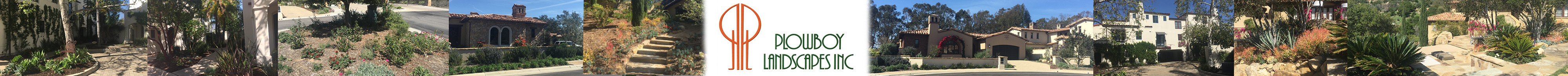 Plowboy Landscapes Inc. Award winning landscaping and maintenance in Ventura and Santa Barbara counties